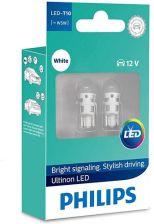 philips Żarówki LED Ultinon LED W5W White - Światła Sygnalizacyjne