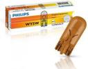 Żarówka PHILIPS 12V 5W WY5W T10 W2.1x9.5d pomarańczowa, 1 szt.